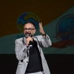 Geninho Goes, diretor da BNT Mercosul, foi o responsável por escolher a melhor torcida da noite