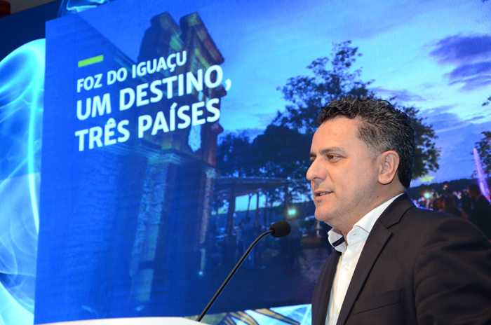 Gilmar Piolla, secretário de Turismo de Foz do Iguaçu