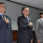 Gilson Machado Neto, Jair Bolsonaro e o ministro Marcelo Alvaro Antônio