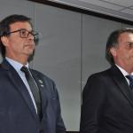 Gilson Machado Neto e Jair Bolsonaro