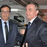 Com a presença do presidente Jair Bolsonaro, Gilson Machado Neto tomou posse como presidente da Embratur no dia 29 de maio.