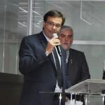 Gilson Machado discursa em sua cerimônia de posse