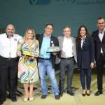 Groupon e Viajar Barato receberam dos executivos do Beto Carrero o prêmio pelo destaque em vendas nas regiões Norte, Leste e Centro de São Paulo