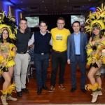 Hamilton Amorim, Cristiano Placeres, Douglas Silva e Rogerio Mendes, da CVC