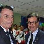 Jair Bolsonaro e Gilson Machado Neto