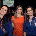 Janaina Giroldo, da Cássia Viagens, Deise Gomes, da FM Tour, e Diana Rodrigues, da Cássia Viagens