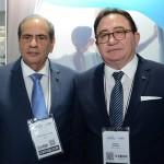José Roberto Tadros, presidente da CNC, e Manoel Linhares, presidente da ABIH Nacional