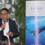 Josué Silva, da Air Tahiti Nui, apresentou os diferenciais da companhia