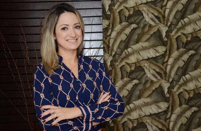 Juliana Campeoto, gerente de Vendas do Infinity Blue