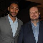 Juliano Braga, do M&E e Alex Malfitani, VP Financeiro da Azul