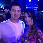 Luciano Fornasa e Talita Pereira, da Lucretur