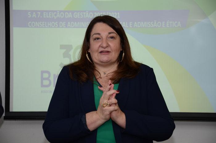 Magda Nassar, presidente em exercício da Abav Nacional