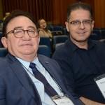 Manoel Linhares, da ABIH NAcional, e Jack Abboudi, da ABIH-MT
