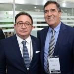 Manoel Linhares, presidente da ABIH Nacional, e Luiz Silva, da CNC