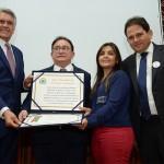 Manoel Linhares recebeu o título de cidadão do Estado de Goiás