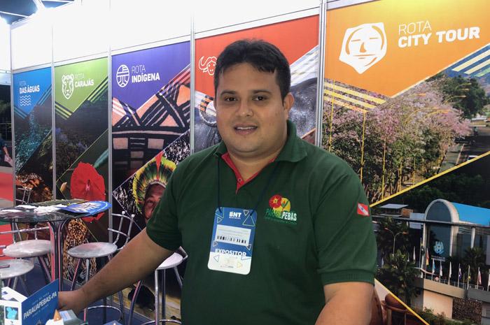 Marcos Alexandre dos Santos, coordenador municipal de Turismo de Parauapebas.