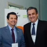 Otávio Leite, secretário de Turismo do RJ, e Claiton Armelin, diretor de Produtos Terrestres Nacionais da CVC Corp