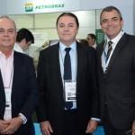 Pedro Fortes, da ABIH-RJ, Antônio Eliseu Barros, ABIH-CE, e Gustavo Guimarães, da ABIH-ES