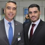 Rafael Brito, secretário de Turismio de Alagoas, e Caio Uchoa