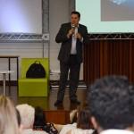 Ricardo Aly, da RA Marketing Estrategico, durante sua palestra no 61 Conotel de 2019