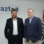 Roberto Nedelciu e Frederico Levy, presidente e vice-presidente