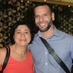 Simone Cavalcante, da Milessis Operadora, e Marcelo Fin , da Formula Viagens