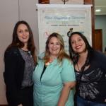 Tânia Roda,  Monique Prado e Daniele Rio, do Turismo Center