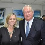 Vanessa Mendonça, secretária de Turismo do Distrito Federal e Roy Taylor, presidente do M&E