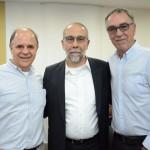 Victor Hugo, da CI, Rui Alves, da MMT Gapnet Flytour, e José Zuquim, da Ambiental