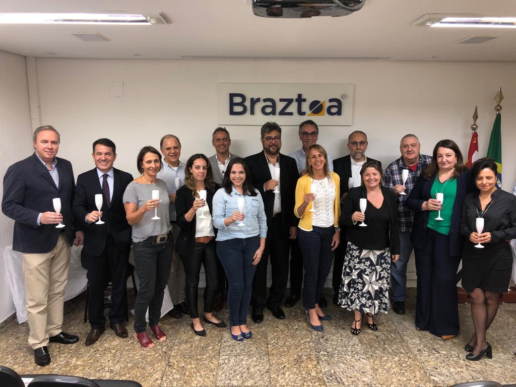 Braztoa acaba de eleger sua nova diretoria para o biênio 2019-2020
