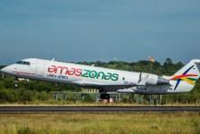 Amaszonas realizará dois voos semanais entre São Paulo e Montevidéu