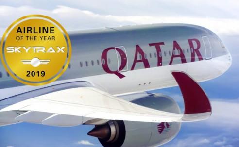 Qatar Airways é eleita a melhor companhia do mundo em 2018; Azul entra no Top 50