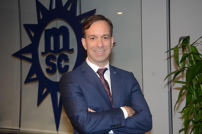 Adrian Ursilli, diretor Geral da MSC Cruzeiros no Brasil