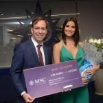 Adrian Urssili, com a miss Brasil 2019 Júlia Horta