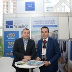 Alex Machado e Renato Cunha, do Windsor Hotéis