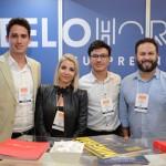 Alexandre Campos, Priscilla Machado, Marcone Cassimiro e Junior Machado, da BH CVB
