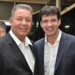 Alexandre Sampaio, da CNC, com Marcelo Álvaro Antônio, Ministro do Turismo