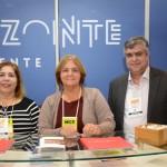 Ana Paula Azevedo e Rosy Alvarenga, da Belotur, e Rodrigo Cançado, do Intercity