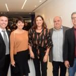 Arthur Araujo, da MSC, Melissa Abreu e Andréa Guimarães, da Perfil Viagens, Fernando Pedro e Luiz Carlos, da Dia Pleno Turismo