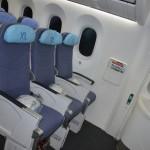 Assento XL tem espaço extra e pode ser adquirido após a compra
