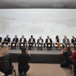 Autoridades na abertura do Festival das Cataratas