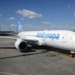 Boeing 787-800 Dreamliner da Air Europa no Aeroporto de Guarulhos