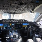 Cabine de Comando do Dreamliner