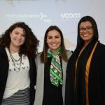Carla Melo, Renata Esteves e Mariana Goularte, da Rexturadvance