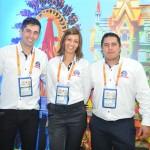 Carlos Wenderlich, Janaina Reatti, e Abidio Junior, do Beto Carrero