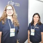 Catiria Garbelini e Dóris Alves, da GJP