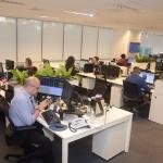 Central de reservas, agora integrada ao departamento comercial