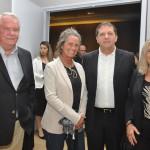 Chico Brasileiro, prefeito de Foz do Iguaçu, com Roy Taylor, Mari Masgrau e Rosa Masgrau, do M&E