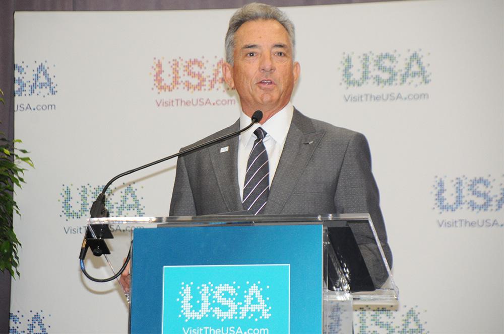 Christopher Thompson, presidente do Brand USA