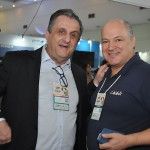 Claiton Armelin, da CVC, e Luis Calle, do Grupo Camar